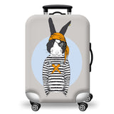 Elastic Travel Luggage Bag Protector Cover -Rabbit
