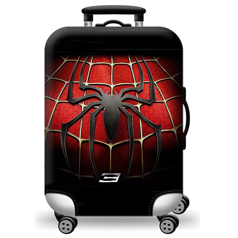 Elastic Travel Luggage Bag Protector Cover- Spider Man 3