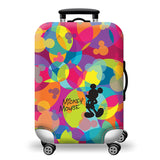 Elastic Travel Luggage Bag Protector Cover-Mickey Mouse Color