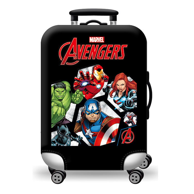 Elastic Travel Luggage Bag Protector Cover- Marvel Avengers
