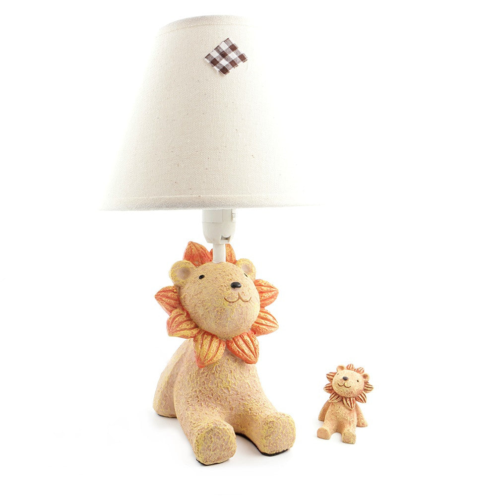 Lion Lamp Comes with Display Item