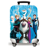 Elastic Travel Luggage Bag Protector Cover-Frozen 1