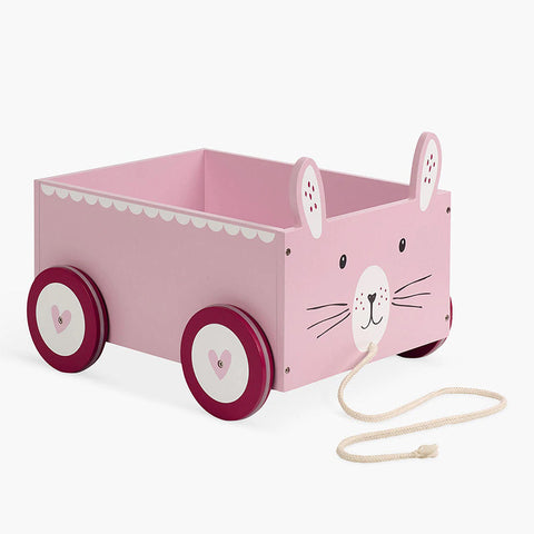 Book Storage Cart - Misss Bunny