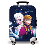 Elastic Travel Luggage Bag Protector Cover-Frozen Elsa & Anna