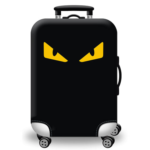 Elastic Travel Luggage Bag Protector Cover - Ninja