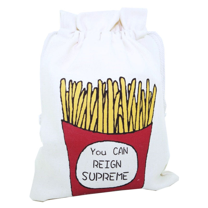 Fries Canvas Pouch