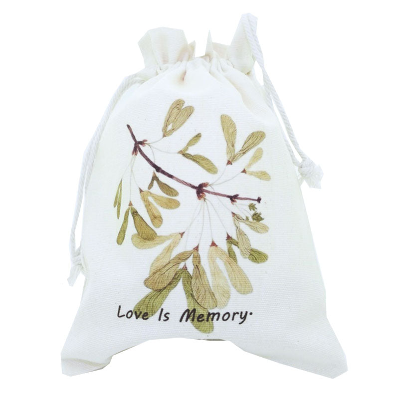 Love is Memory Canvas Pouch
