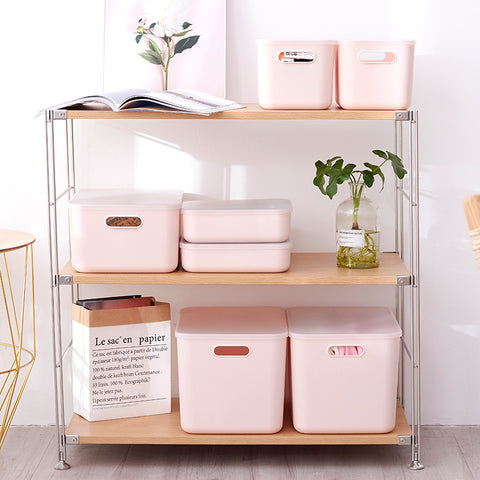 Stackable Simple Storage Container Organiser - D