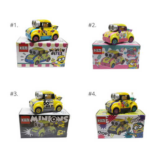 Tomica Illumination Universal Studios Japan Minion Collection