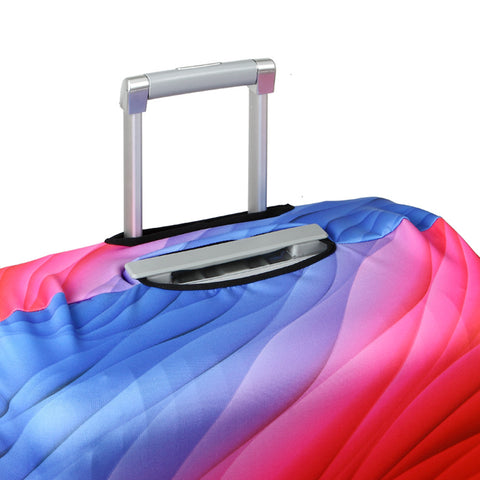 Elastic Travel Luggage Bag Protector Cover - Flamingo