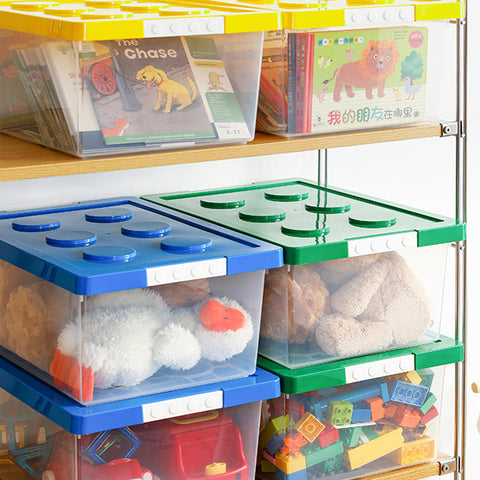 Bricks Toy Organiser Storage Box - Large