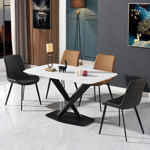 Premium Marble Top Dining Table