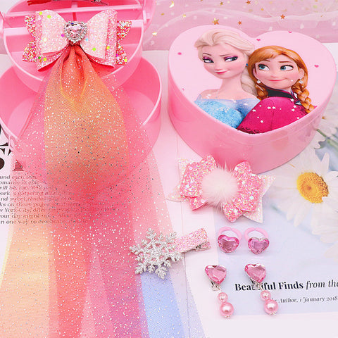 Frozen 2 Pink Jewelry Hair Accessories Gift Set For Kids
