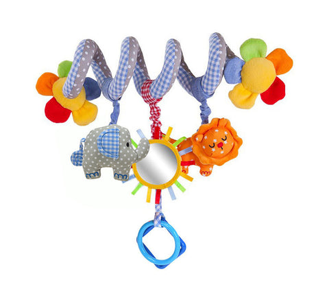 Cute Animal Stroller Bar Activity Toy