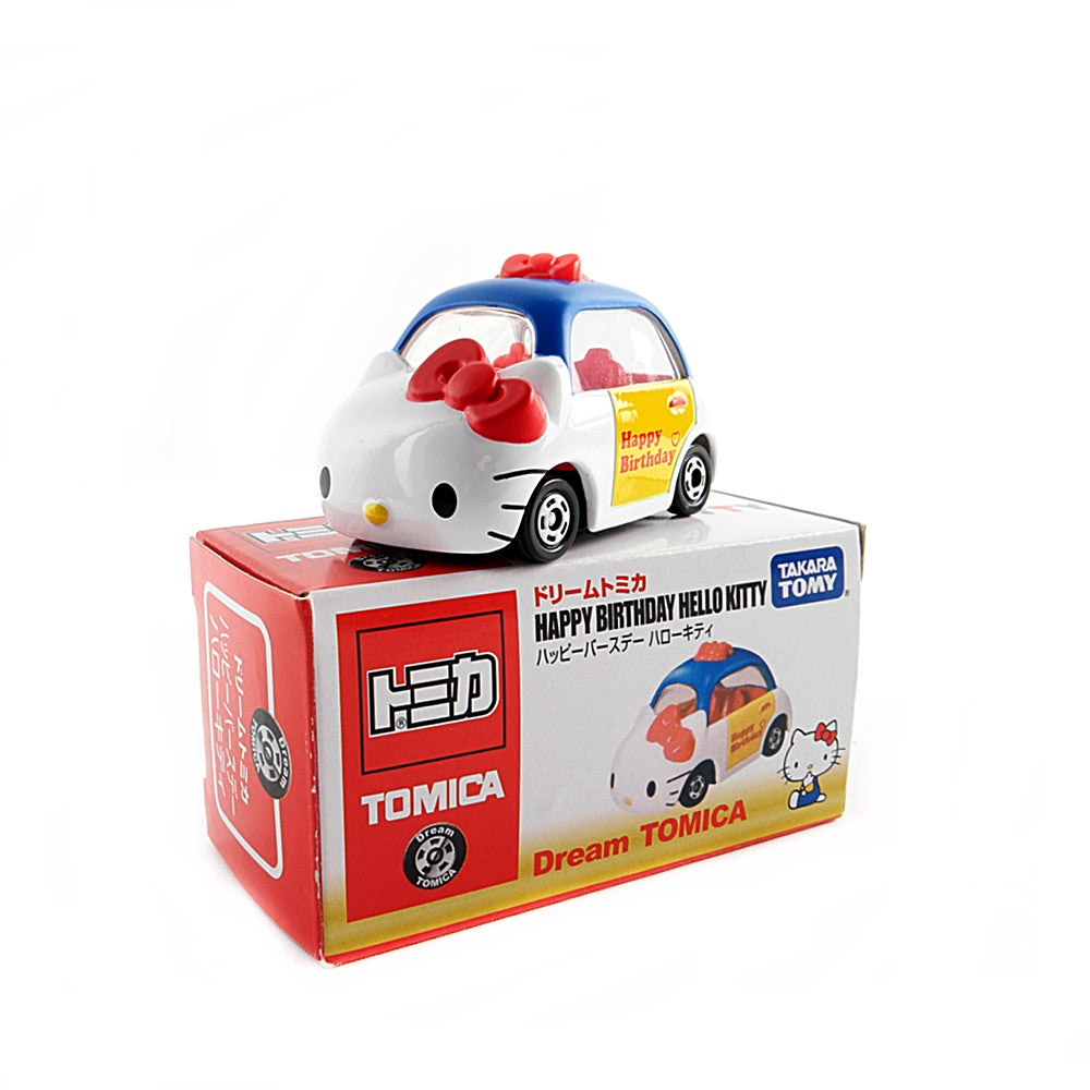 Dream Tomica Happy Birthday Hello Kitty