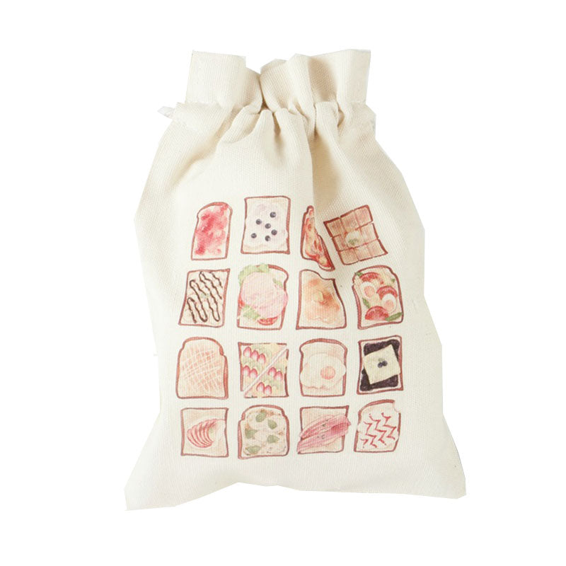 Bread Canvas Pouch