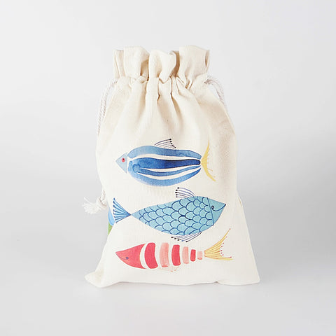 In the Ocean Canvas Pouch