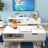 Simple Modern Length Adjustable TV Console