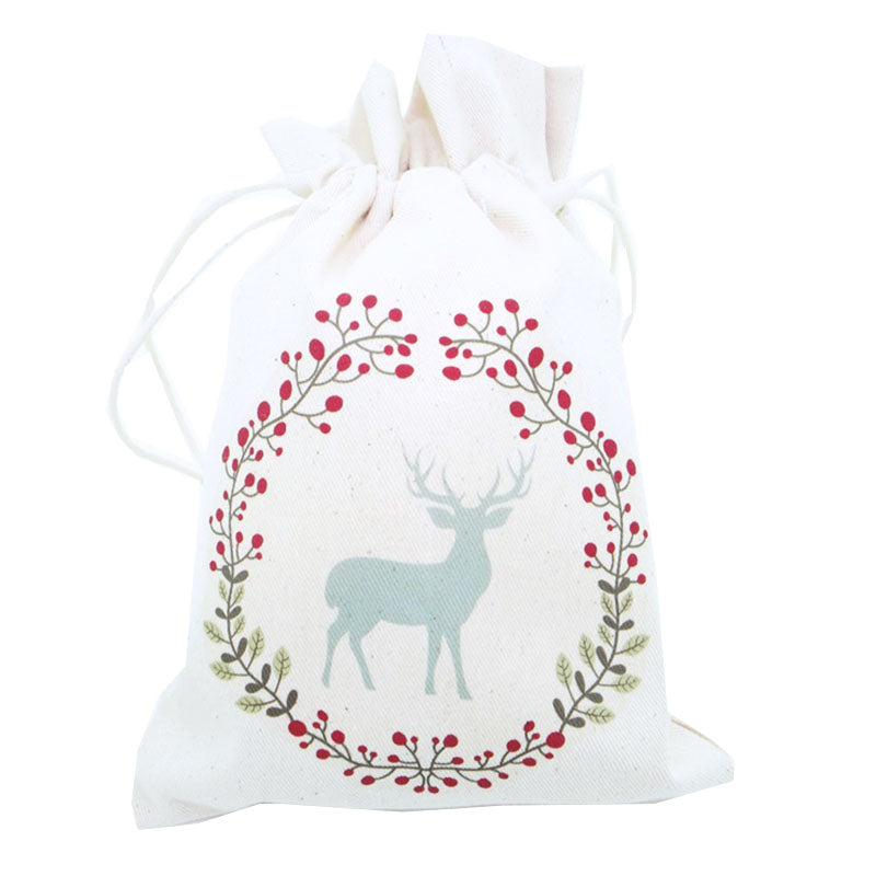 Merry Christmas Canvas Pouch 7