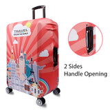 Elastic Travel Luggage Bag Protector Cover - Traveling The World