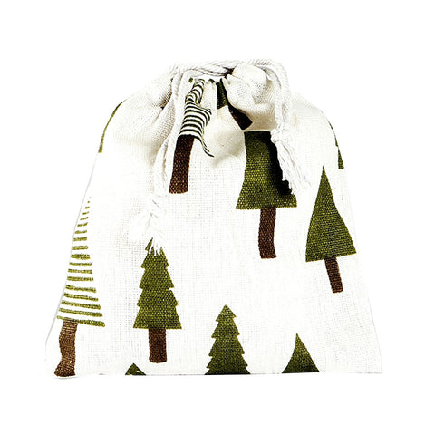 In The Woods Canvas Pouch