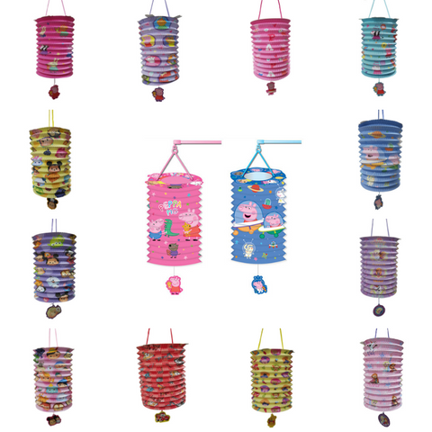 Cartoon Mid-Autumn Festival Paper LED Lantern