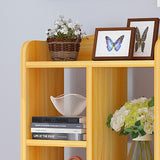 Multi-Purpose Wooden Book Shelf - Design A