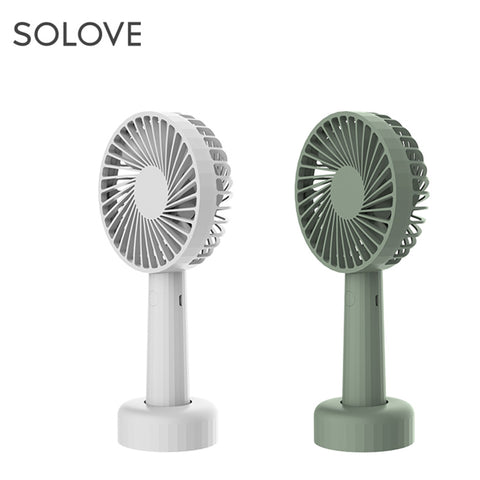 Solove F-1 Portable & Table Fan (Multicolor)