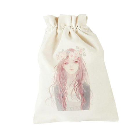 Dreamy Girl Canvas Pouch