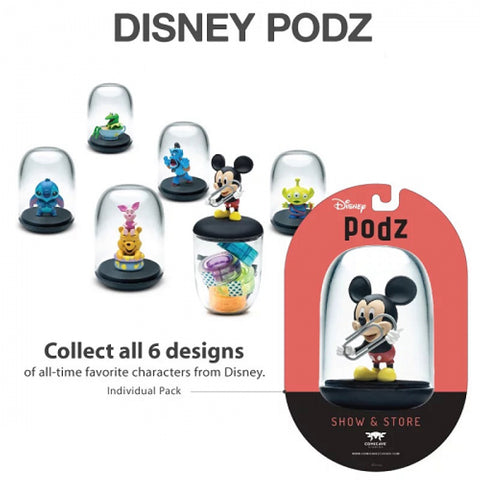 Comicave Studios Disney Podz Set of 6 Figures Desk Organizer