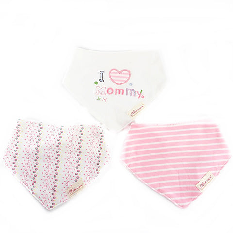 Snowy I Love Mommy Bib Set of 3