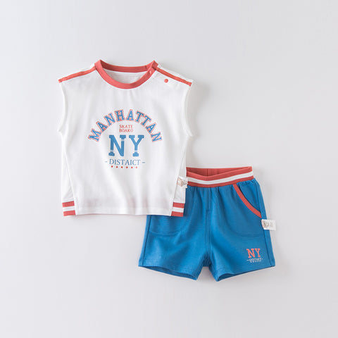 DaveBella Boy NY Skateboard 2pc Set