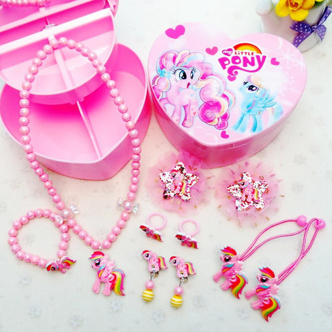 My Little Pony Jewelry Hair Accessories Gift Set For Kids