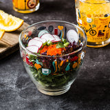 Borgonovo Healthy Lifestyle Transparent Salad Bowl