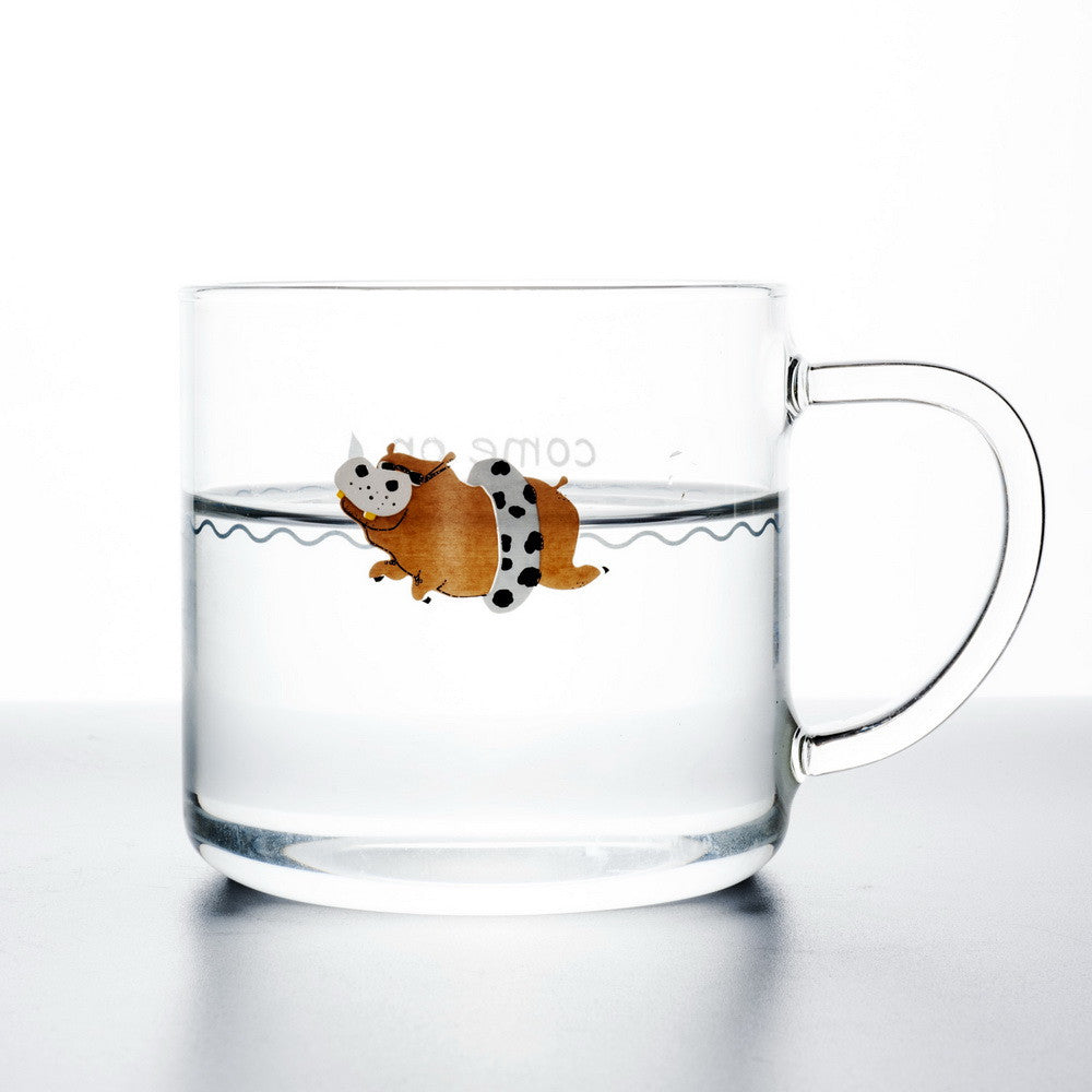 Swimming Hippopotamus with Float Cup
