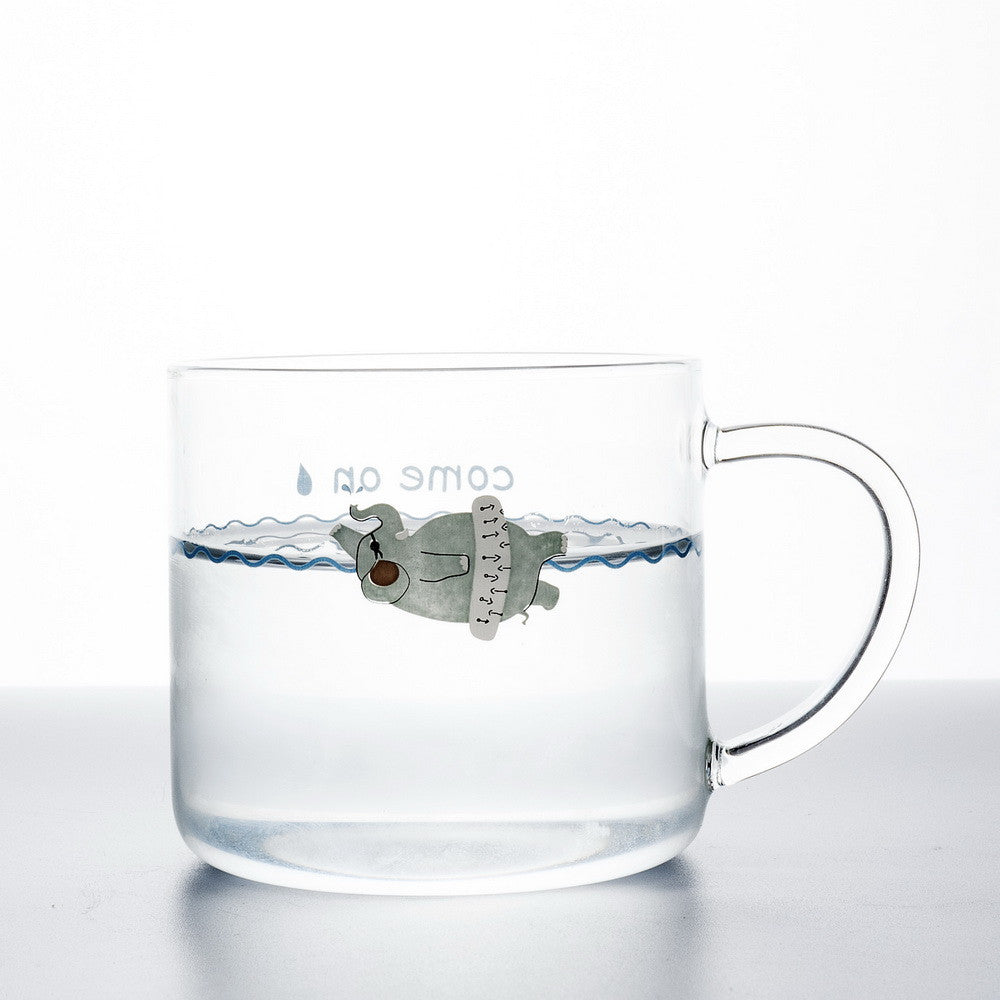 Swimming Elephant with Float Cup