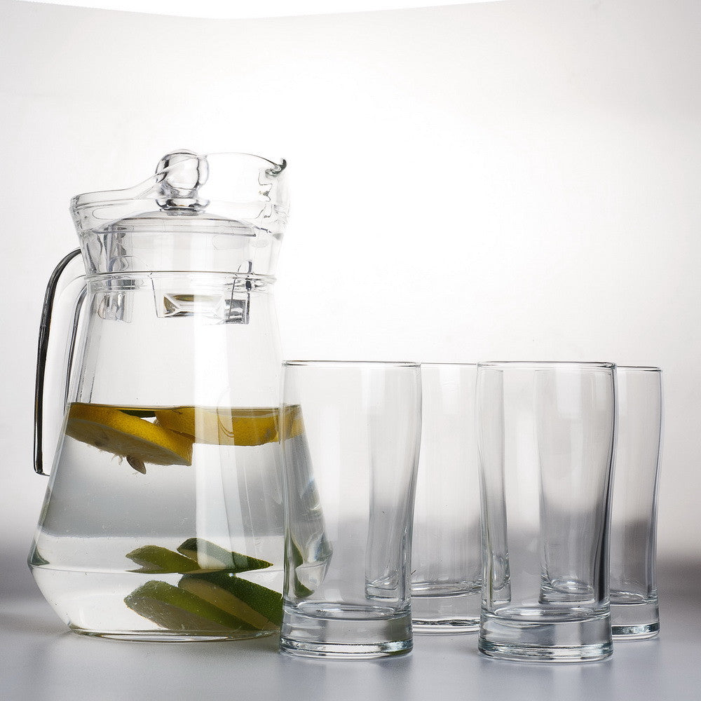 Transparent Jar Set