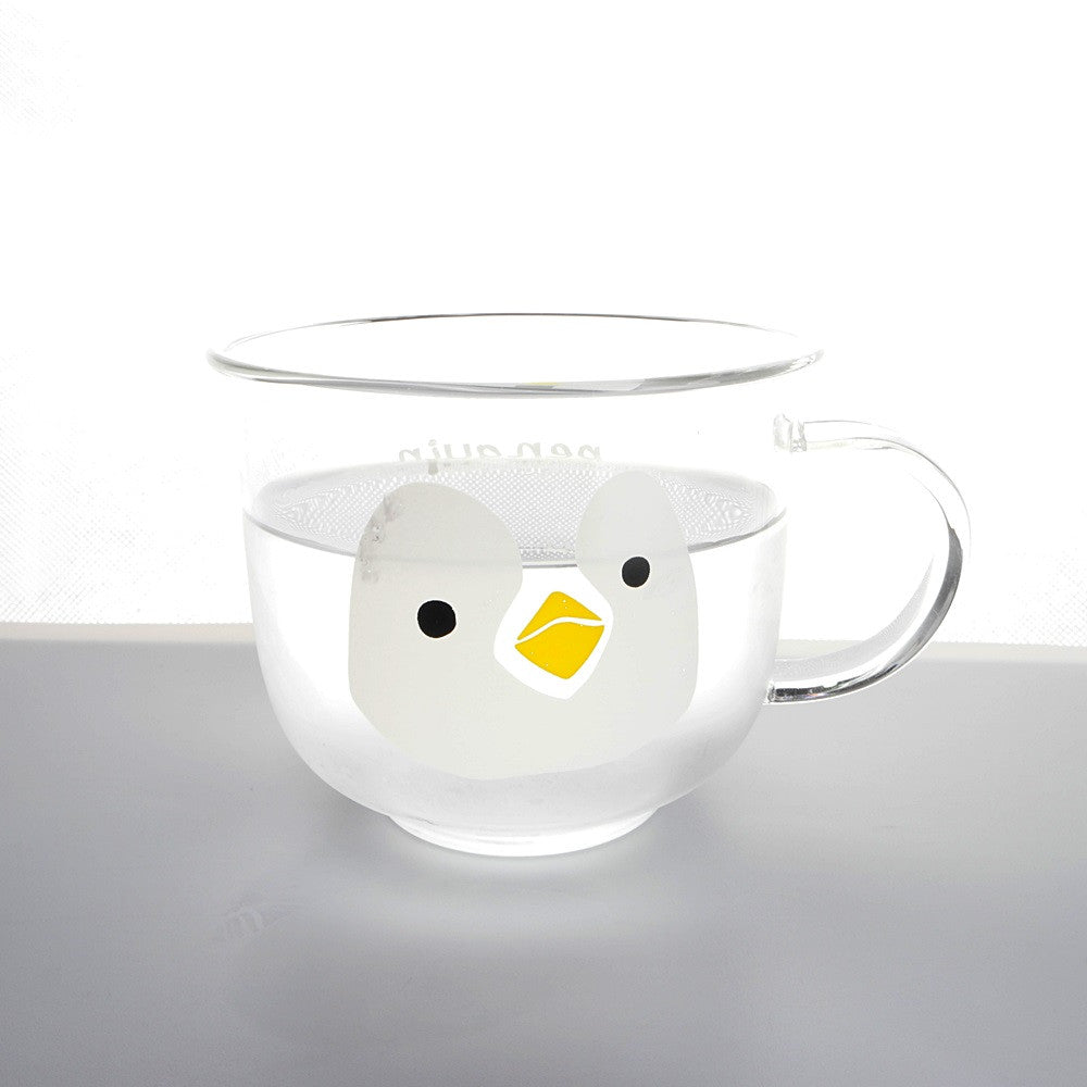 Penguin Transparent Cup