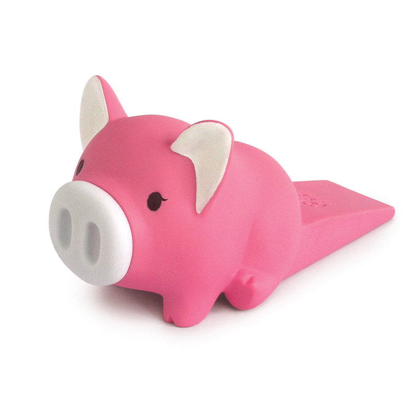 Pink Piggy Door Stopper