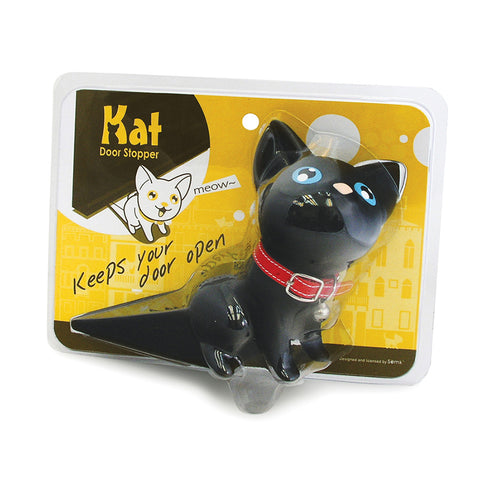 Black Kat Door Stopper