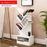 5-Tier Wooden Book Rack (3 colors)
