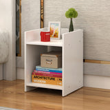 2-Tier Wooden Bedside Table