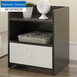 Wooden Bedside Table With One Drawer (3 Colors)
