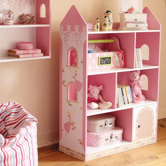Angle Castle Book Shelf