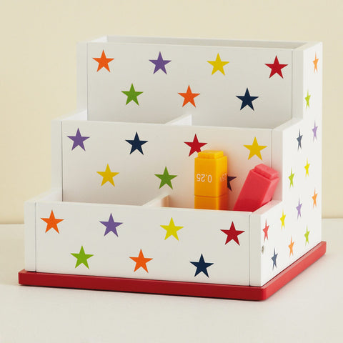 Desk Tidy - Rainbow Star