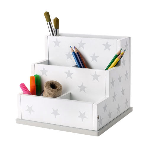 Desk Tidy - Grey Star