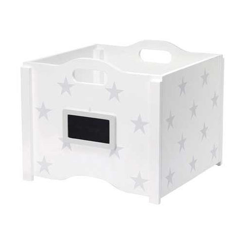 Stacking Toy Box - Grey Star