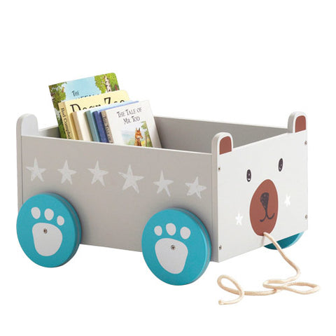Book Storage Cart - Mr Bear