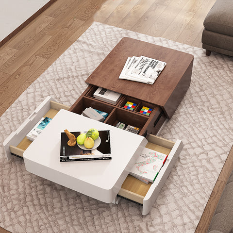 Premium Wooden Furniture Coffee Table With Storage