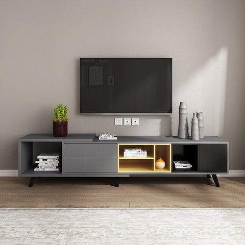 Nordic Style Wooden Length Adjustable TV Console|Coffee Table